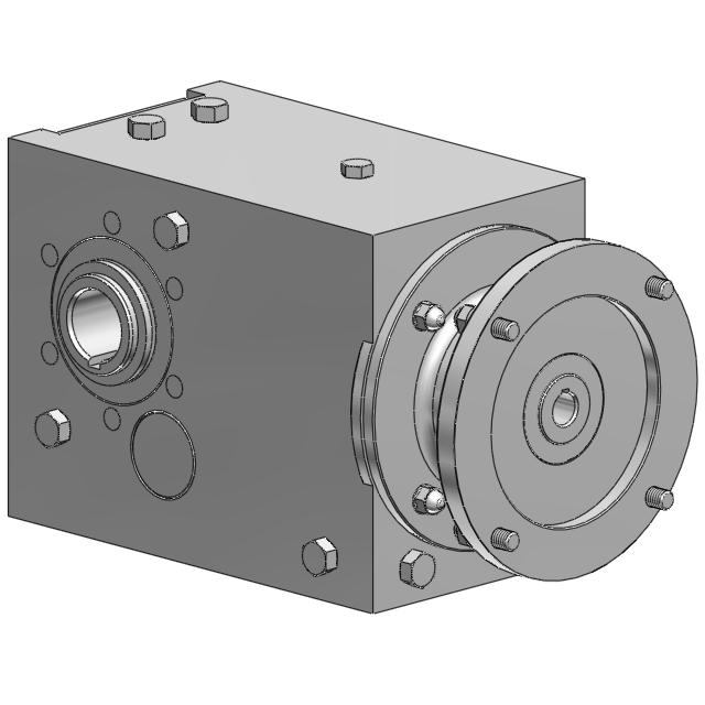 Stainless Steel Helical Bevel Gear Drives