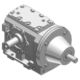 Poweratio® 2000 Double Reduction Helical Worm Gear Drive